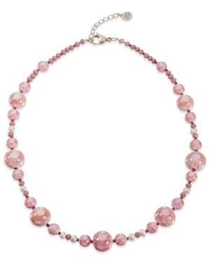 collana sorrento rosa